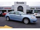 2014 Crystal Blue Pearl Chrysler 200 LX Sedan #99107160