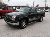 2005 Dark Gray Metallic Chevrolet Silverado 1500 Z71 Regular Cab 4x4 #99107337