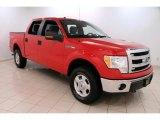 2014 Vermillion Red Ford F150 XLT SuperCrew 4x4 #99107331