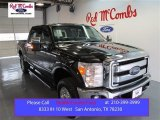 2015 Tuxedo Black Ford F250 Super Duty XLT Crew Cab 4x4 #99137895