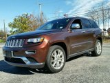 2014 Deep Auburn Pearl Jeep Grand Cherokee Summit 4x4 #99137827