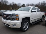 2015 White Diamond Tricoat Chevrolet Silverado 1500 High Country Crew Cab 4x4 #99137986