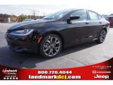 2015 Black Chrysler 200 S #99173154