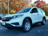 2015 White Diamond Pearl Honda CR-V LX AWD #99173373