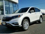 2015 White Diamond Pearl Honda CR-V EX AWD #99173372