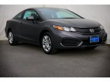 2015 Modern Steel Metallic Honda Civic LX Coupe #99173210