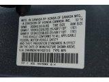2015 CR-V Color Code for Alabaster Silver Metallic - Color Code: NH700MX