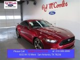 2015 Ruby Red Metallic Ford Mustang V6 Coupe #99173073