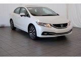 2015 White Orchid Pearl Honda Civic EX-L Sedan #99173001