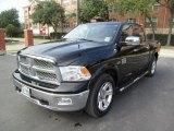 2012 Black Dodge Ram 1500 Laramie Longhorn Crew Cab #99201365