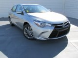 2015 Celestial Silver Metallic Toyota Camry SE #99201271