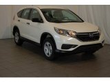 2015 White Diamond Pearl Honda CR-V LX #99216684