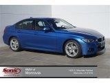 2015 Estoril Blue BMW 3 Series 335i Sedan #99216962