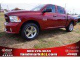 2015 Deep Cherry Red Crystal Pearl Ram 1500 Express Crew Cab #99216858