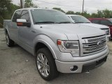 2014 Ingot Silver Ford F150 Limited SuperCrew 4x4 #99216741