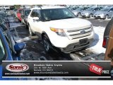 2014 White Platinum Ford Explorer Limited 4WD #99216661