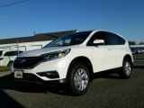 2015 White Diamond Pearl Honda CR-V EX AWD #99250905