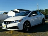 2015 Taffeta White Honda Civic Si Sedan #99250904