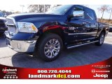 2014 True Blue Pearl Coat Ram 1500 Laramie Limited Crew Cab 4x4 #99289017