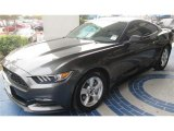 2015 Magnetic Metallic Ford Mustang V6 Coupe #99288907