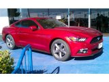 2015 Ruby Red Metallic Ford Mustang V6 Coupe #99288905