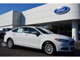 2015 Oxford White Ford Fusion S #99289055