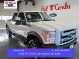 2015 White Platinum Ford F250 Super Duty King Ranch Crew Cab 4x4 #99288900