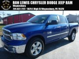 2015 Blue Streak Pearl Ram 1500 Big Horn Crew Cab 4x4 #99289144