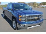 2015 Deep Ocean Blue Metallic Chevrolet Silverado 1500 LT Double Cab #99289320