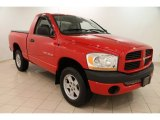 2006 Flame Red Dodge Ram 1500 ST Regular Cab 4x4 #99289286