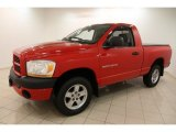 2006 Dodge Ram 1500 Flame Red