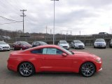 2015 Competition Orange Ford Mustang GT Premium Coupe #99327059