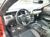 2015 Ford Mustang GT Premium Coupe Ebony Interior