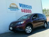 2012 Basque Red Pearl II Honda CR-V LX 4WD #99327516