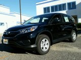 2015 Crystal Black Pearl Honda CR-V LX AWD #99327511