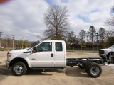 2015 Ford F350 Super Duty XL Super Cab 4x4 Chassis Data, Info and Specs