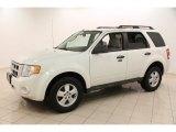 2010 Ford Escape White Suede
