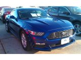 2015 Deep Impact Blue Metallic Ford Mustang V6 Coupe #99326996
