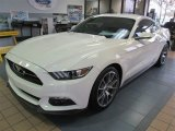 2015 50th Anniversary Wimbledon White Ford Mustang 50th Anniversary GT Coupe #99326988