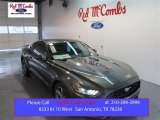 2015 Magnetic Metallic Ford Mustang V6 Coupe #99326980