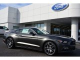 2015 Magnetic Metallic Ford Mustang EcoBoost Premium Coupe #99327173