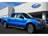 2014 Blue Flame Ford F150 XLT SuperCrew #99327168