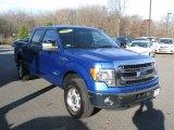 2014 Blue Flame Ford F150 XLT SuperCrew 4x4 #99375320