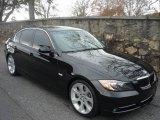 2007 Jet Black BMW 3 Series 335i Sedan #988783