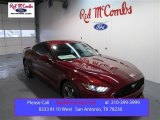 2015 Ruby Red Metallic Ford Mustang V6 Coupe #99375121