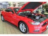 2015 Race Red Ford Mustang V6 Coupe #99395423