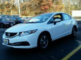 2015 Taffeta White Honda Civic SE Sedan #99395663