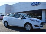 2015 Oxford White Ford Fiesta S Sedan #99395460