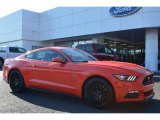 2015 Competition Orange Ford Mustang GT Premium Coupe #99417188