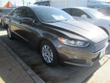 2015 Magnetic Metallic Ford Fusion S #99417092